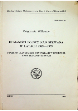 Humaniści Polscy nad Sekwaną