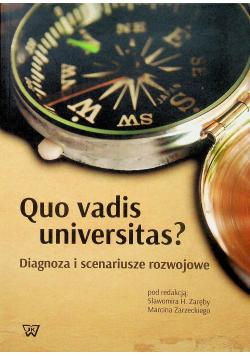 Quo vadis universitas