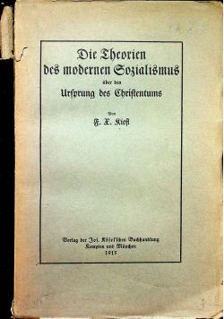 Die Die ehedrien des modernen sozialismus 1915 r.