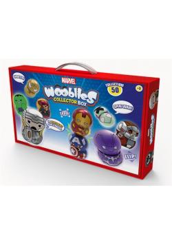 Wooblies Marvel Skrzynka kolekcjonerska + 4 fig