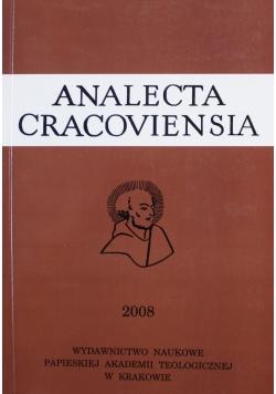 Analecta Cracoviensia XL