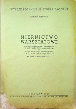 Miernictwo Warsztatowe