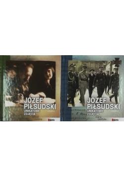 Józef Piłsudski unikatowe zdjęcia Tom I i II