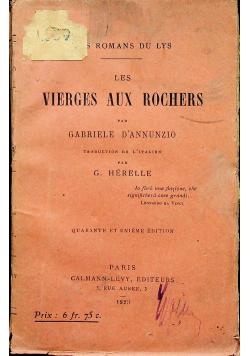 Les vierges aux rochers 1923r