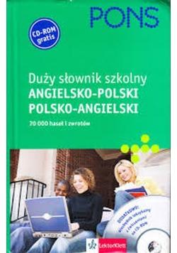 Duży słownik szkolny angielsko polski