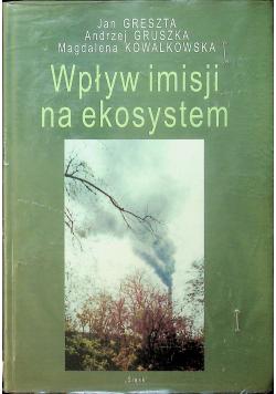 Wpływ imisji na ekosystem