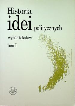 Historia idei politycznych Tom I