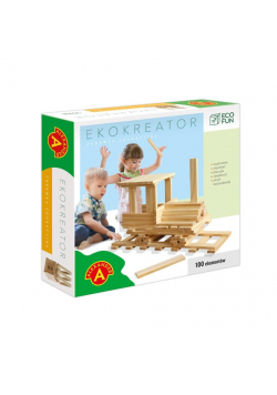Eco Fun Ekokreator 100 elementów ALEX