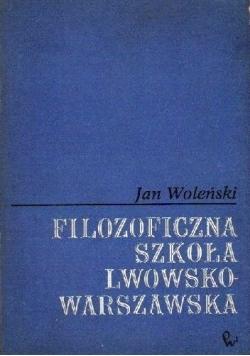 Filozoficzna szkoła lwowsko-warszawska
