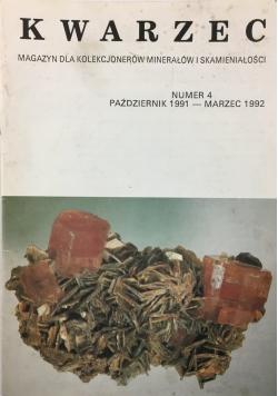 Kwarzec magazyn dla kolekcjonerów minerałów i skamieniałości nr 4