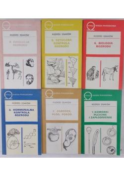 Rozród ssaków zestaw 6 książek