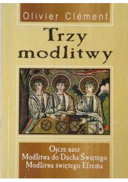 Trzy modlitwy
