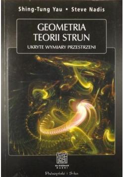 Geometria teorii strun