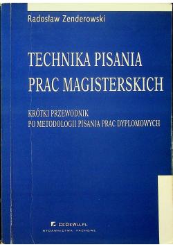 Technika Pisania Prac Magisterskich