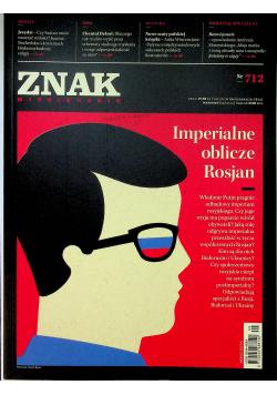 Znak Miesięcznik 712 Imperialne oblicze Rosjan