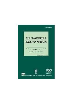 Managerial Economics 20/2