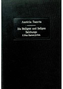 Die Heiligen und Seligen Salzburgs 1913 r.