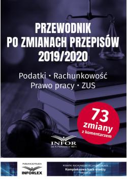 Przewodnik po zmianach przepisów 2019/2020