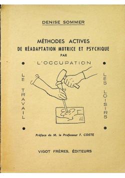 Methodes Actives de Readaptation Motrice et Psychique
