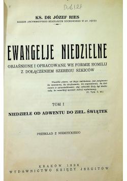 Ewangelje niedzielne Tom I 1936 r
