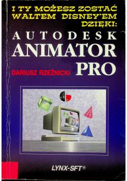 Poznaj Autodesk Animator Pro