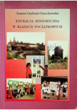 Edukacja historyczna w klasach początkowych