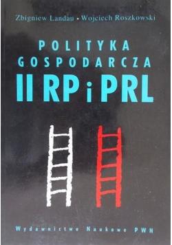 Polityka gospodarcza II RP i PRL