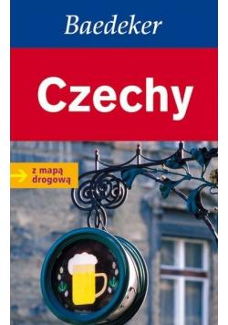 Czechy Baedeker z mapą drogową