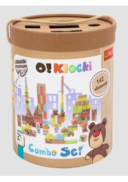 Zabawka drewniana - Klocki combo 142szt TREFL