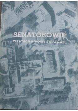 Senatorowie w latach II wojny światowej