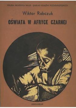 Oświata w Afryce czarnej