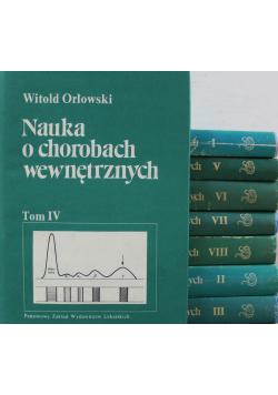 Nauka o chorobach wewnętrznych 8 tomów