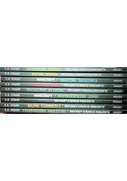 Przygody w świecie minecrafta 9 tomów