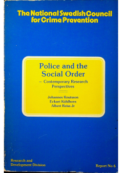 Police and the social order