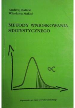Metody wnioskowania statystycznego