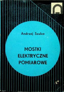 Mostki elektryczne pomiarowe
