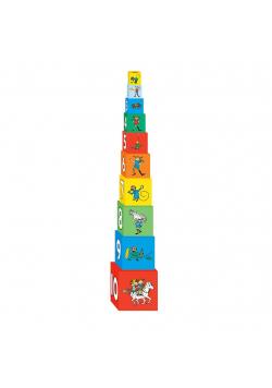 Wieża Kartonowa Piramida Pippi Langstrumpf