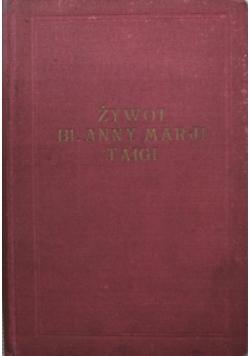 Żywot Bł Anny Marji Taigi 1926 r.