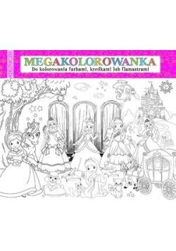 Megakolorowanka Księżniczki
