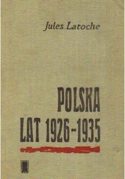 Polska lat 1926 do 1935