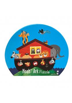 Puzzle dla dzieci w ozdobnym pudełku Arka Noego