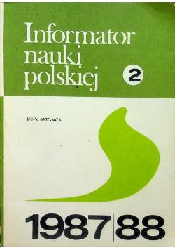 Informator nauki polskiej tom 2