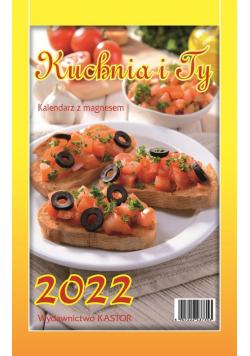 Kalendarz 2022 KL03 Kuchnia i Ty z magnesem