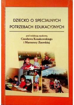 Dziecko o specjalnych potrzebach edukacyjnych