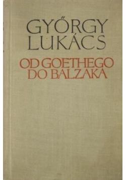 Od Goethego do Balzaka