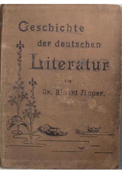 Geschichte der deutschen literatur 1898 r