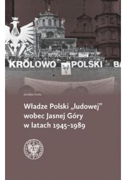 """Władze Polski """"ludowej"""" wobec Jasnej Góry"""