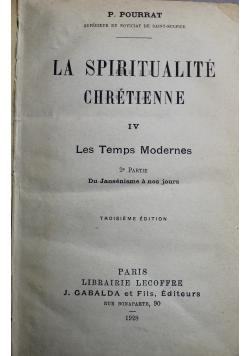 La Spiritualite Chretienne IV 1928 r.