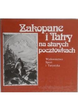 Zakopane i tatry na starych pocztówkach
