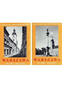 Warszawa Stare miasto 2 części